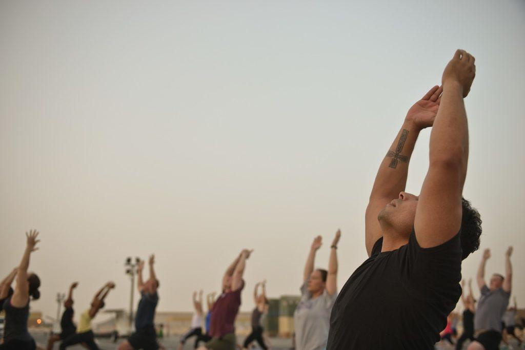 Men Yoga Classes Gym Instructor  - janeb13 / Pixabay