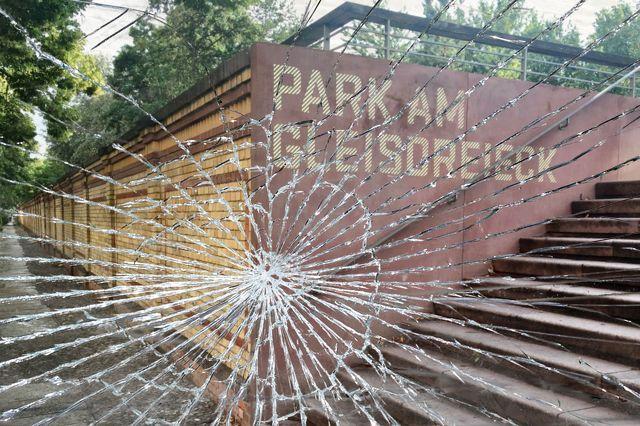 Vandalisdmus im Gleisdreieckpark
