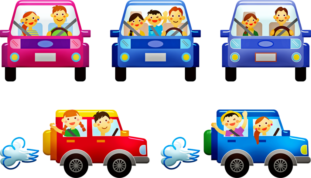 People In Cars Family Car  - 7089643 / Pixabay