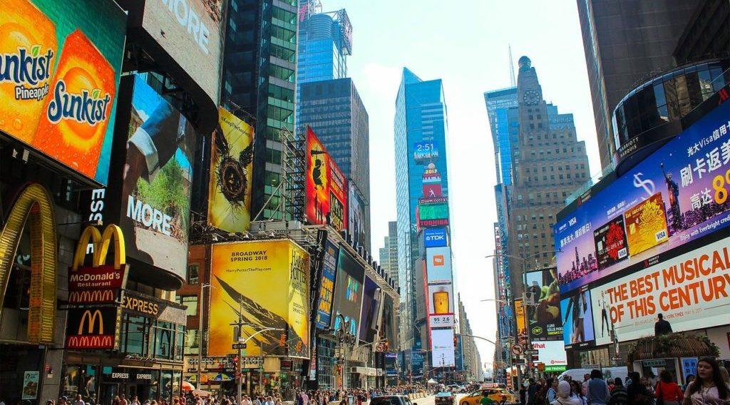 Times Square Buildings Advertising  - Wallula / Pixabay